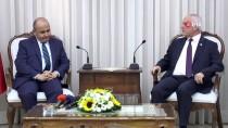 BATI TRAKYA - Büyükelçi Başçeri, KKTC Meclis Başkanı Töre İle Görüştü