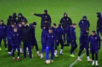 ÜLKER - Dinamo Zagreb Yağmur Altında Çalıştı