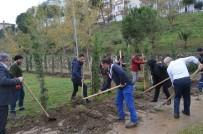 Erdek'te Görev Yapan Öğretmenlere Fidan