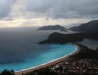 KELEBEKLER VADİSİ - Fethiye'de deniz, rengiyle büyüledi