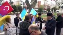 SÜRGÜN - Kırım Türklerinden Ukrayna'ya Destek