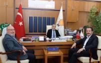 TOPLU SÖZLEŞME GÖRÜŞMELERİ - Memur-Sen'den AK Parti Grup Başkanı Bostancı'ya Ziyaret