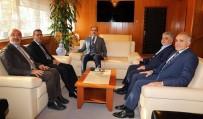 ARAFAT - Moritanyalı Belediye Başkanı'ndan Başkan Altay'a Ziyaret