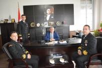 Sahil Güvenlik Bölge Komutanından Kaymakam Çalık'a Ziyaret