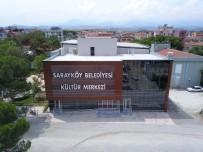 SİNEMA SALONU - Sarayköy İlçe Sinemasından Çevre İlçeler De Yararlanıyor