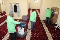 SIIRT BELEDIYESI - Siirt'te Camiler Temizleniyor