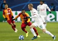AHMET ÇALıK - UEFA Şampiyonlar Ligi Açıklaması Lokomotiv Moskova Açıklaması 1 - Galatasaray Açıklaması 0 (İlk Yarı)