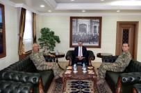 9.Kolordu Komutanı Tümgeneral Tarakçı'dan Vali Bilmez'e Ziyaret
