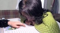 EVDE EĞİTİM - Bedensel Engelli Fatma, Evde Eğitimle Okuryazar Oldu