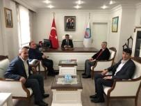 MEHMET ALİ ÖZKAN - Beştepe'den Dönen Muhtarlardan Kaymakam Özkan'a Ziyaret
