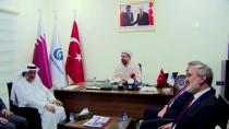 KATAR - Diyanet İşleri Başkanı, Katar'da Yunus Emre Enstitüsü'nü Ziyaret Etti