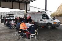 LÖSEMİ HASTASI - Donör Olmak İsteyen Belediye Çalışanlarından Minik Öykü Arin'e Destek
