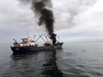 KIYI EMNİYETİ - Dün Provası Paniğe Neden Olan Gemi Yangını Söndürme Tatbikatı Bugün Gerçekleştirildi