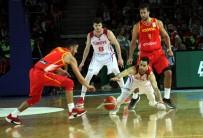 BERK UĞURLU - FIBA Dünya Kupası Avrupa Elemeleri Açıklaması Türkiye Açıklaması 71 - İspanya Açıklaması 67