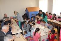GÖLGE OYUNU - Germencikli Çocuklar Oyun Atölyesinde Doyasıya Eğlendi