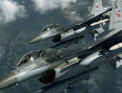 Irak'ın kuzeyine hava harekatı: 14 terörist etkisiz
