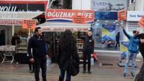 ŞİDDETE HAYIR - Kadına Yönelik Şiddete Sosyal Deneyle Dikkati Çektiler