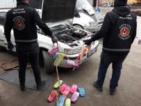 SAĞ VE SOL - Kapıköy Sınır Kapısında Araç İçerisinde 35 Kilogram 684 Gram Eroin Ele Geçirildi