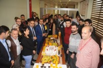 SAĞLIK ÇALIŞANI - Sağlık-Sen Cizre'de Tıbbi Sekreterler Gününü Kutladı