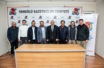MURAT ZORLUOĞLU - Vali Zorluoğlu'ndan VGC'ye Veda Ziyareti