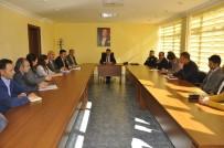 ABDULLAH ŞAHIN - Arguvan'da Okul Sağlığı Ve Güvenliği Toplantısı