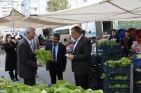 Başkan Gürkan, Pazar Esnafı İle Bir Araya Geldi