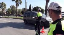 Bodrum'da Havadan Trafik Denetimleri