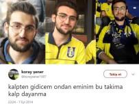 DERBİ MAÇI - F.Bahçeli Şener'den, 'Bu Takıma Kalp Dayanmaz' Paylaşımı