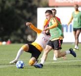 FLORYA - Galatasaray'da Schalke 04 Maçı Hazırlıkları Başladı