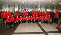DÜNYA KARATE ŞAMPİYONASI - Karate Milli Takımı, Dünya Şampiyonası İçin İspanya'ya Gitti