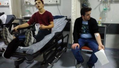 Zehirlenen 17 öğrenci hastaneye kaldırıldı