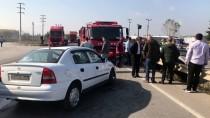 Sakarya'da İki Otomobil Çarpıştı Açıklaması 6 Yaralı