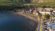 YERLİ TURİST - Sakin Kent Akyaka'da, 'Sonbahar Ve Gün Batımı' Büyüsü