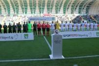 SARı KART - Spor Toto Süper Lig Açıklaması Akhisarspor Açıklaması 1 - Büyükşehir Belediye Erzurumspor Açıklaması 1 (İlk Yarı)