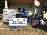 Tokat'ta Sahte Alkol Operasyonu Açıklaması 2 Tutuklama