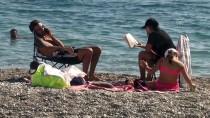 GÜMBET - Turizm Merkezlerinde 'Kasım'da Deniz Keyfi