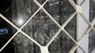 Bafra'da Ev Kurşunladı