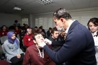 CEMİL MERİÇ - Cemil Meriç Öğrencilerine Diş Muayenesi Yapıldı