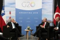 Cumhurbaşkanı Erdoğan, Şili Devlet Başkanı İle Görüştü