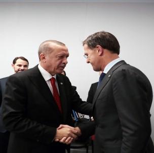Erdoğan Hollanda Başbakanı Mark Rutte ile görüştü