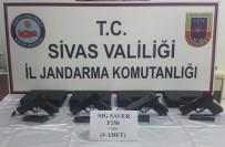 SİLAH KAÇAKÇILIĞI - Jandarmadan Kaçakçılık Operasyonları