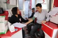 BELEDIYE İŞ - Kaymakam Kaçmaz'dan Kan Bağışı