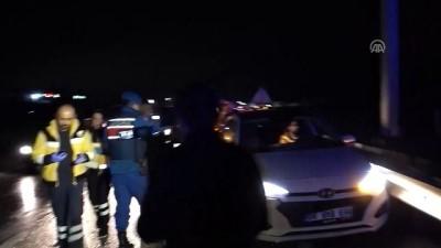 Kırıkkale'de Zincirleme Trafik Kazası Açıklaması 5 Yaralı