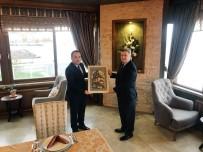 FAIK OKTAY SÖZER - Makedonya Cumhurbaşkanı Mudanya Kaymakamlığı'nda