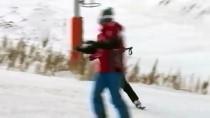 KAYAK MERKEZİ - Palandöken'de Kayak Heyecanı Başladı