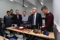 YETKINLIK - SDÜ'den 6 Bacaklı 'Örümcek Robot' Projesi
