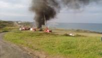YOLCU UÇAĞI - Trabzon Havalimanı'nda Yangın Söndürme Tatbikatı Yapıldı