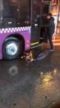 ÇANAKKALE BELEDİYESİ - Trafikte Kendisiyle Tartışan Bisikletlinin Bisikletini Ezdi