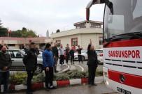 GÜRBULAK - Yılport Samsunspor 3 Puan İçin Uşak'a Gitti