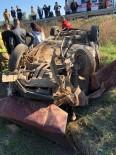 Ayvalık'ta Trafik Kazası Açıklaması 6 Yaralı
